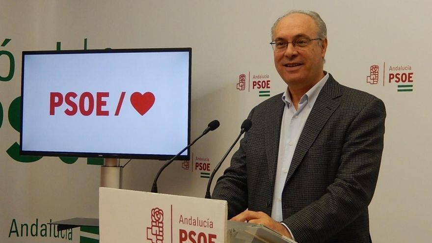 El expresidente del Parlamento Andaluz Juan Pablo Durán, hospitalizado tras sufrir un ictus