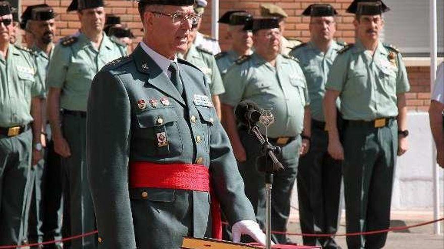 El zamorano Clemente García Barrios, al Seprona como general de división
