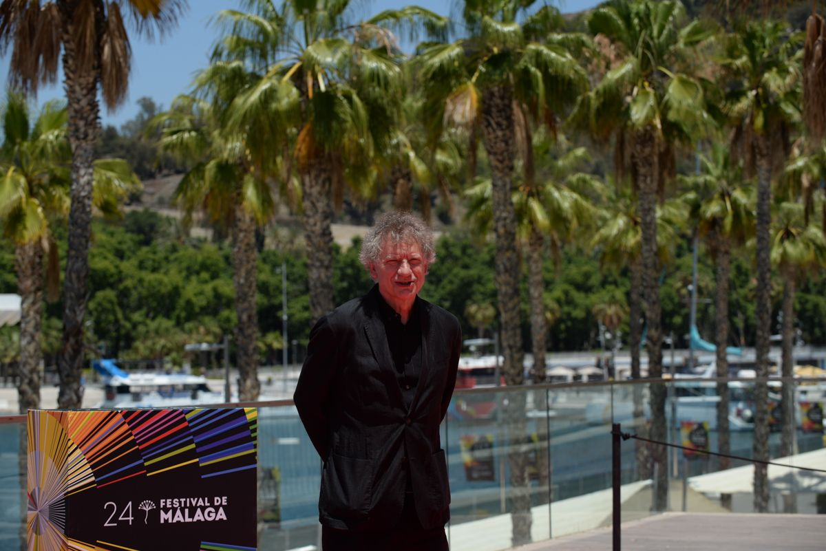 Presentación de 'Hombre muerto no sabe vivir' en el Festival de Cine de Málaga