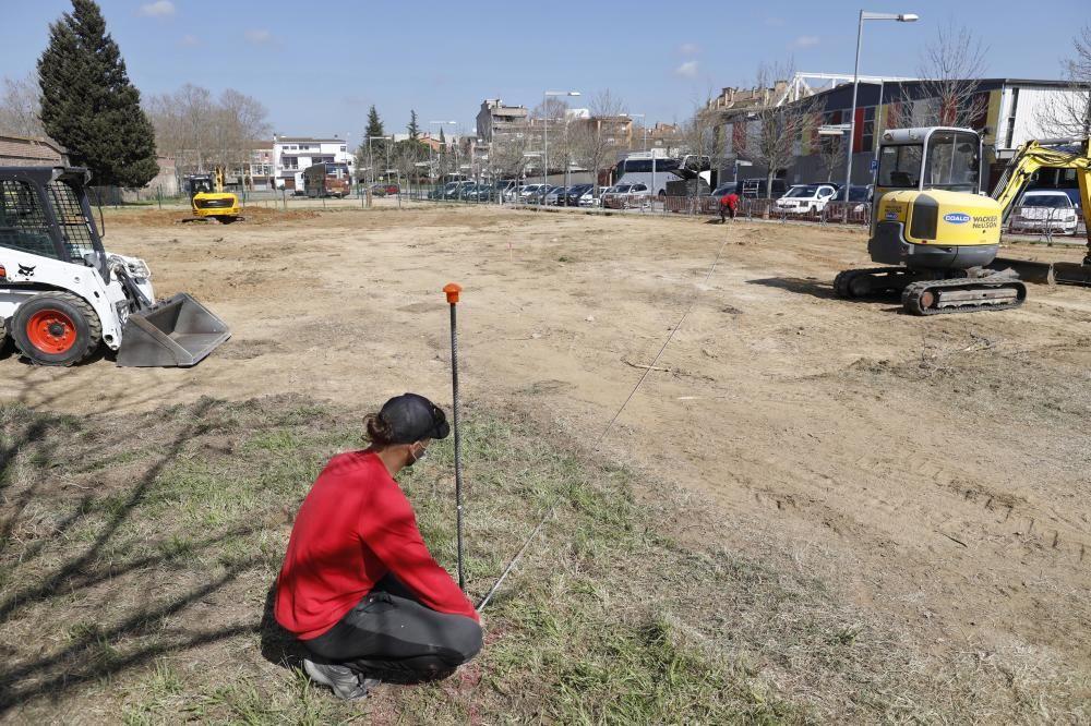 Frodeno construeix un «pump track» a Salt