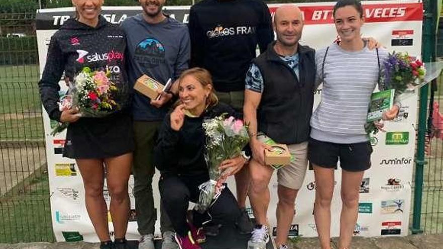 Borja Fernández y Noelia Campa brillan en Naveces