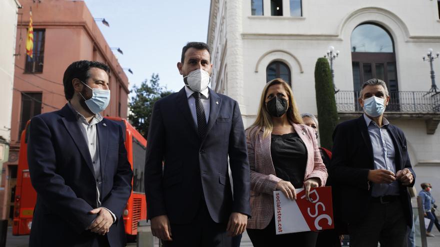 El PSC de Badalona firma la moción de censura al alcalde Xavier García Albiol