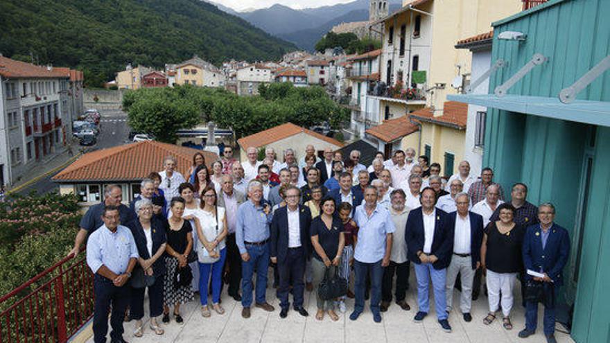 La Guàrdia Civil atura alcaldes que assisitien a la reunió de l'AMI a la Catalunya Nord