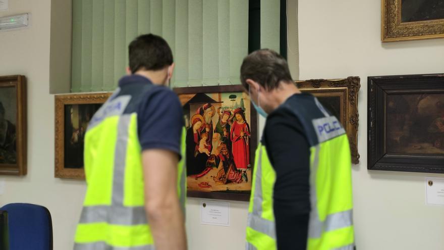 Macrooperación en Castellón contra la falsificación de arte con siete detenciones