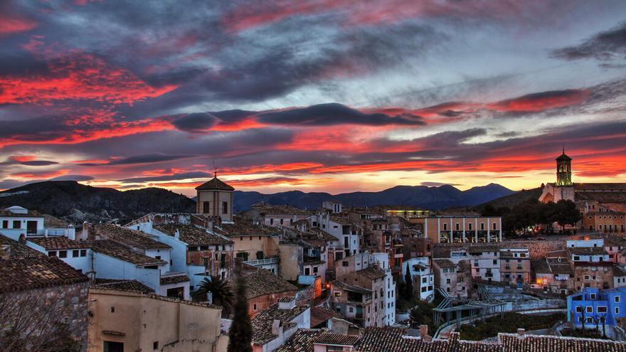 La Comunidad presenta la candidatura de Cehegín al título de 'Mejor villa turística rural'