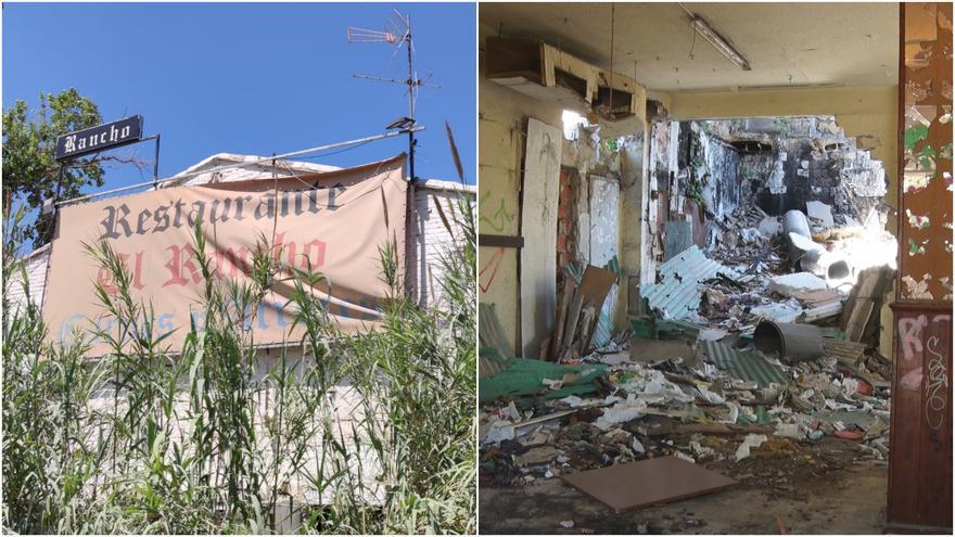 El Rancho, de restaurante de éxito al abandono y la ruina