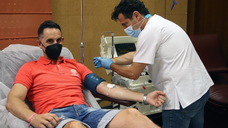 Sergio Rodríguez, donante de plasma hiperinmune