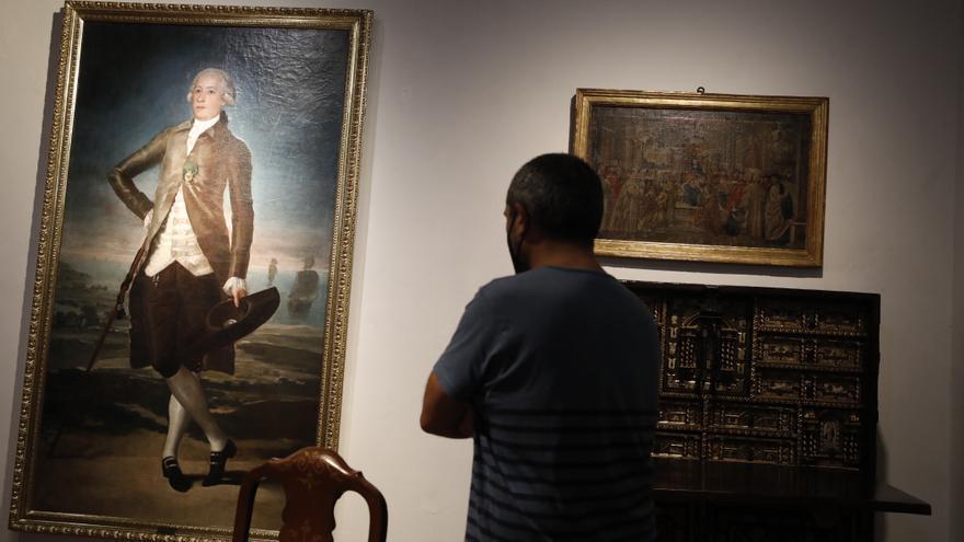 Jovellanos vuelve al hogar: el retrato en San Lorenzo que le hizo Goya ya luce en la Casa Natal