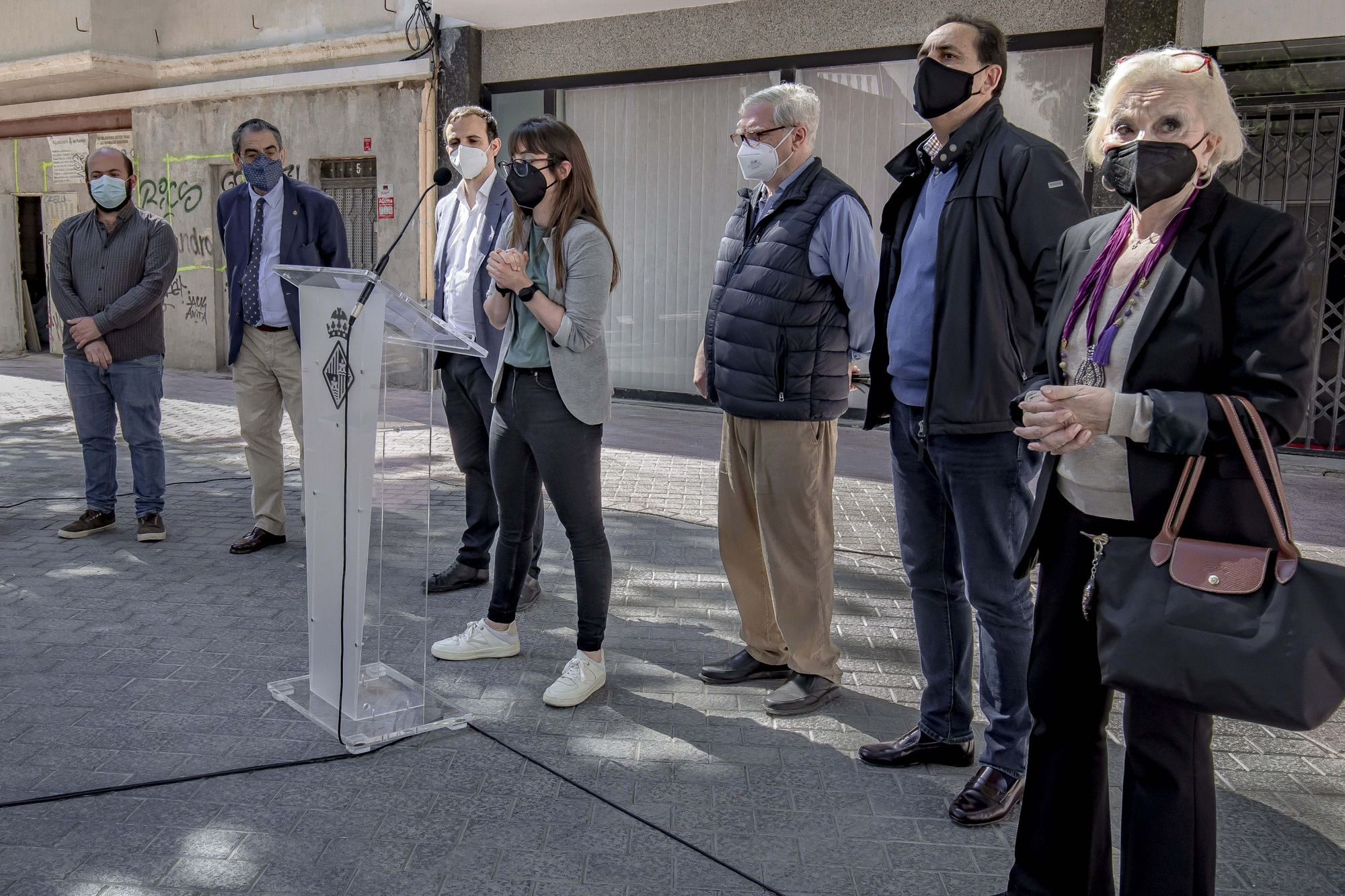 Tributo en Palma a los judíos víctimas de 'sa Cremadissa'