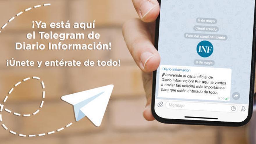 Únete al canal de Telegram de INFORMACIÓN en tres pasos