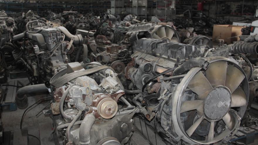 Desguace La Ponderosa, especialista en la venta de repuestos de vehículos industriales