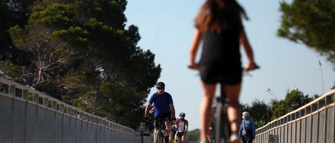 La Diputació proyecta cuatro rotondas y una vía ciclopeatonal entre València y Moncada