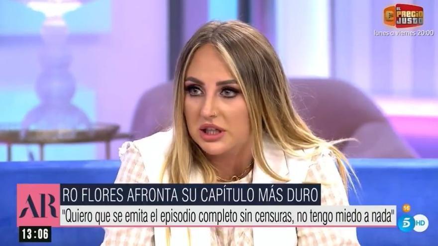 """Rocío Flores vuelve a responder a su madre: """"Cuando quieres proteger a tu hija no haces un episodio hablando de tu hija"""""""