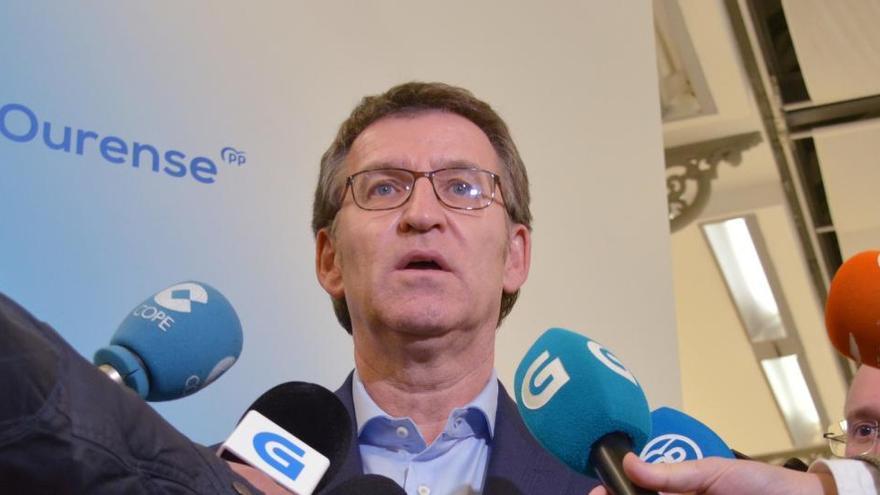 Feijóo y sus conselleiros donarán un 30% del sueldo de abril contra el Covid-19