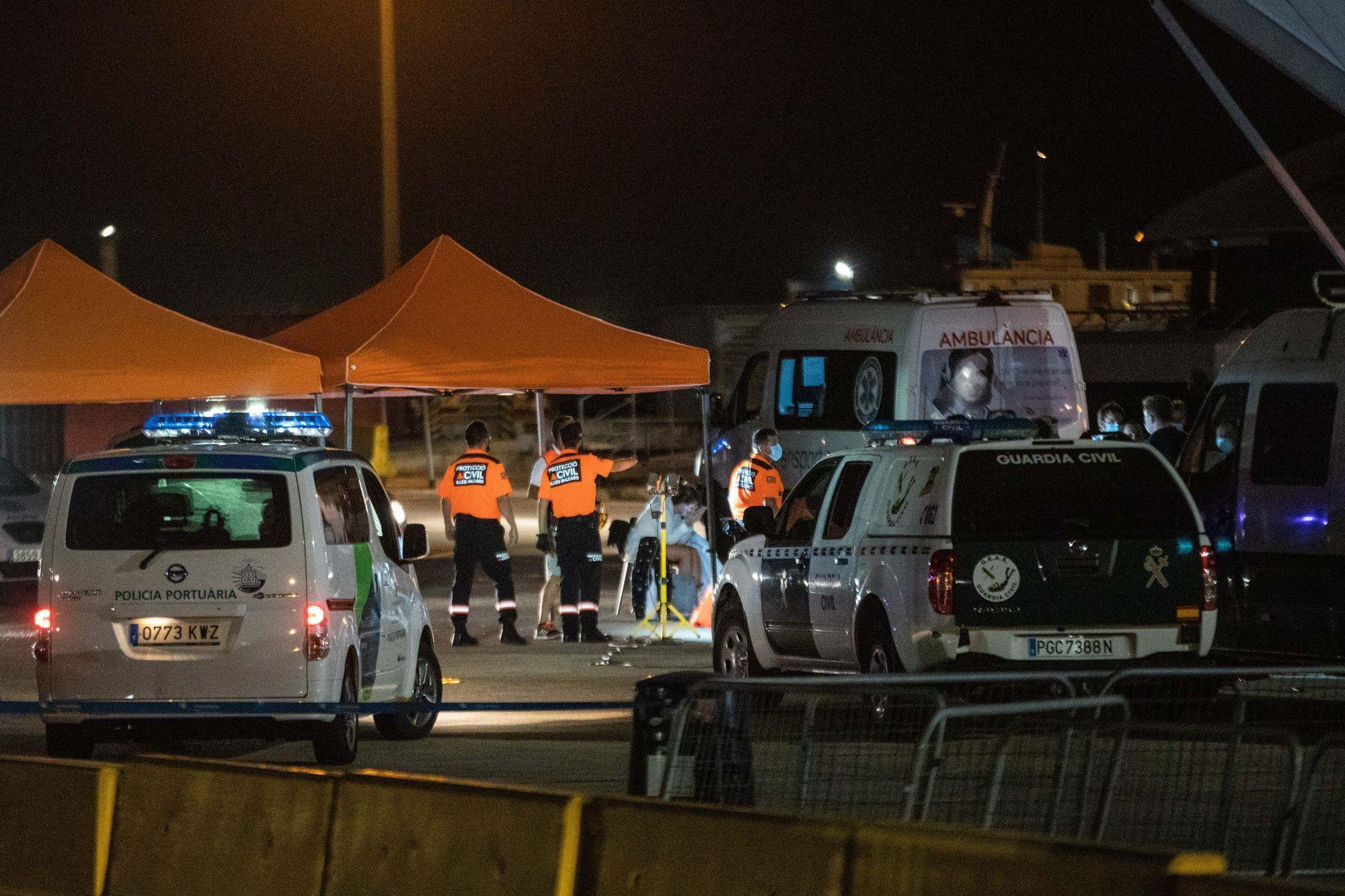 Accidente de un ferry entre Ibiza y Formentera
