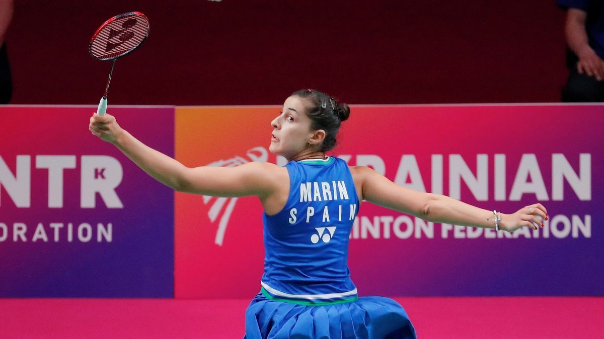 Carolina Marín rises again with the European.