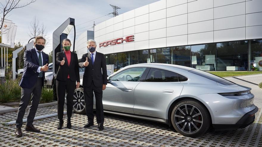 Porsche e Iberdrola se alían para promover el despliegue de la recarga ultrarrápida en España