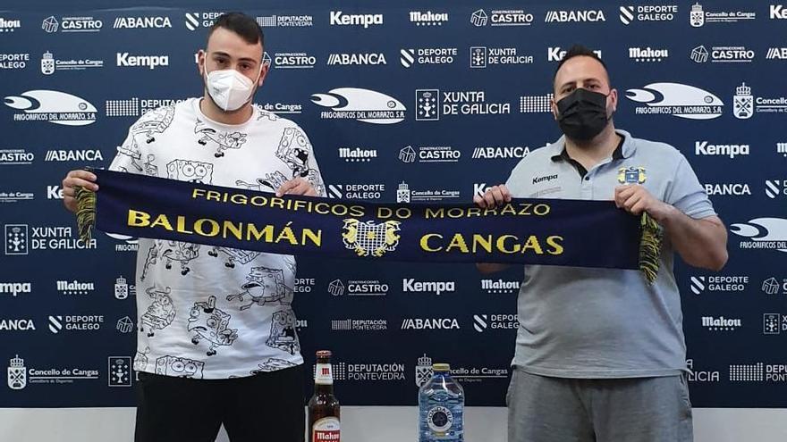 El Cangas renueva a Martín Gayo