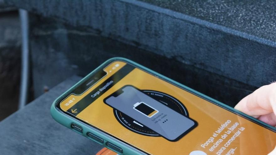 La UMH de Elche desarrolla una aplicación para cargar el móvil sin cables ni enchufes