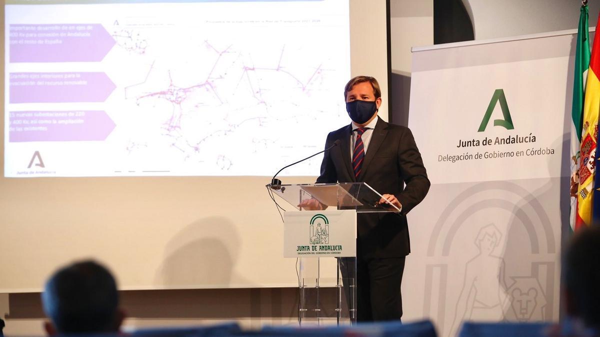 Antonio Repullo explica las alegaciones presentadas por la Junta de Andalucía.