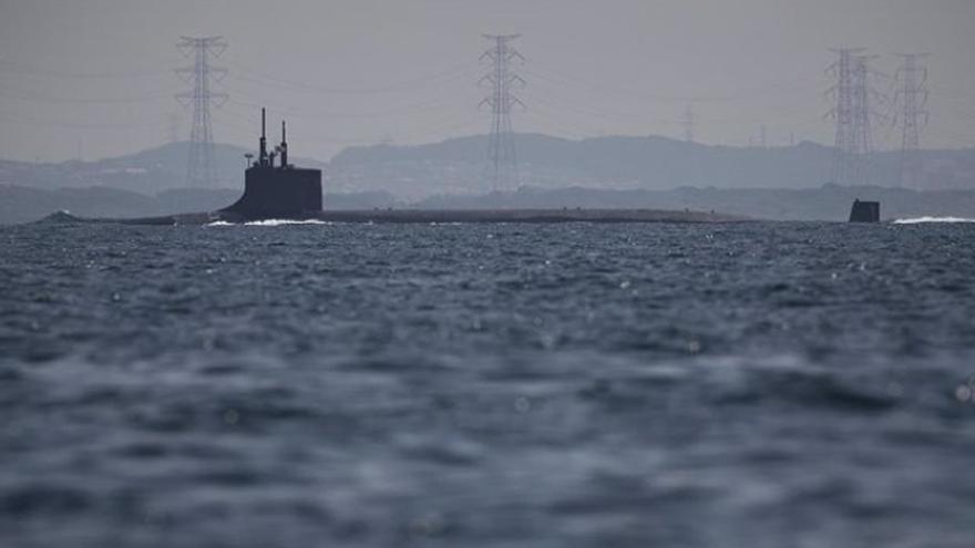 Once marineros heridos en un incidente en un submarino nuclear de EEUU