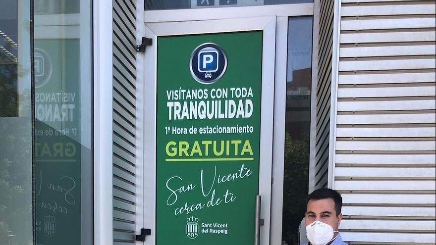 San Vicente incentiva los desplazamientos al centro ofreciendo gratis la primera hora de parking municipal