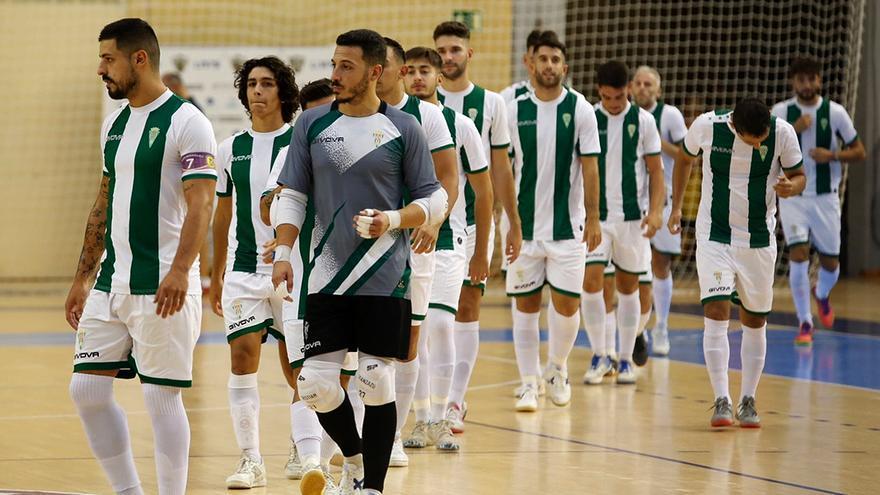 El Córdoba Futsal se muestra en Vista Alegre ante el Betis