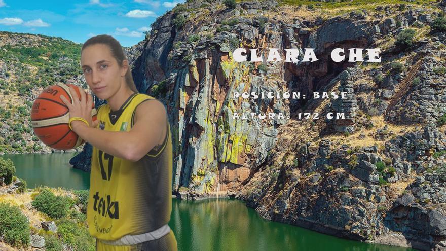 El CD Zamarat incorpora a Clara Che Tórtola