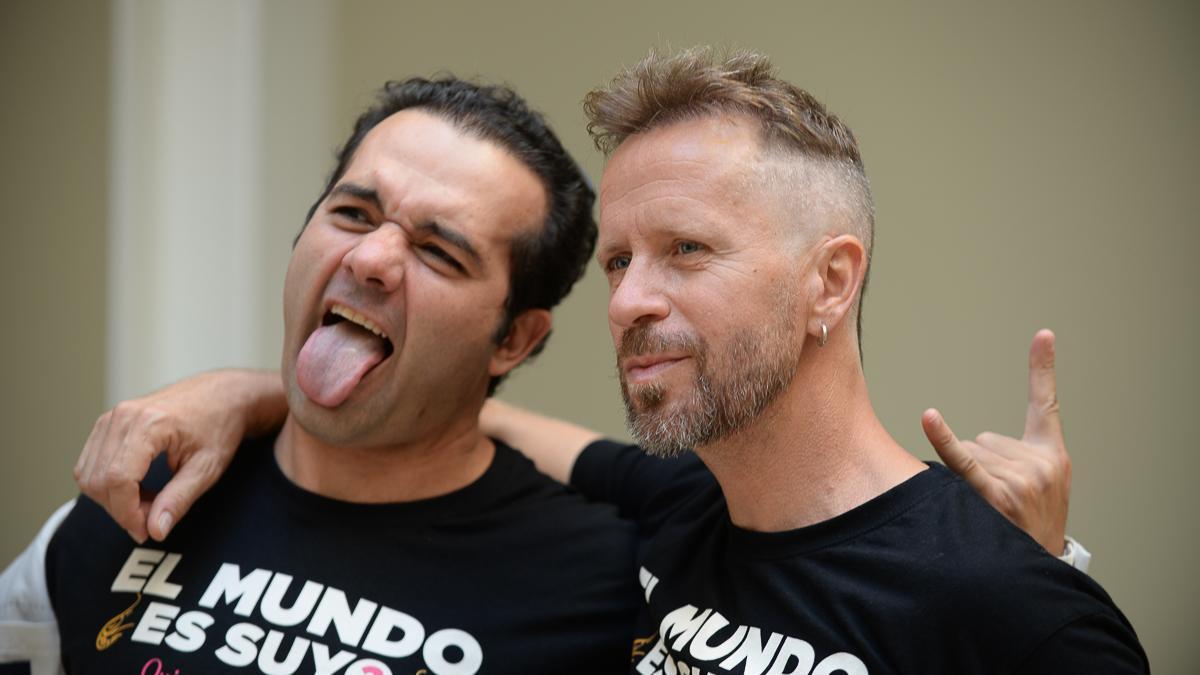 Alberto López y Alfonso Sánchez, o sea, Los Compadres.
