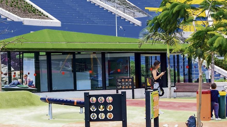 Urbanismo saca a concurso la gestión de un café en el parque del Estadio Insular
