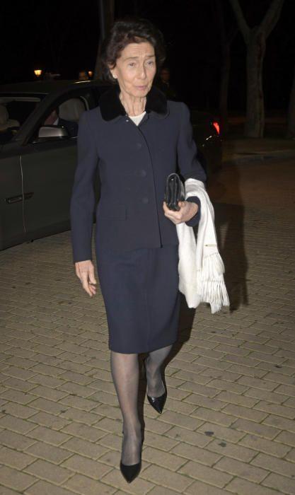 Paloma O´Shea acude al tanatorio para despedir a Plácido Arango en Madrid