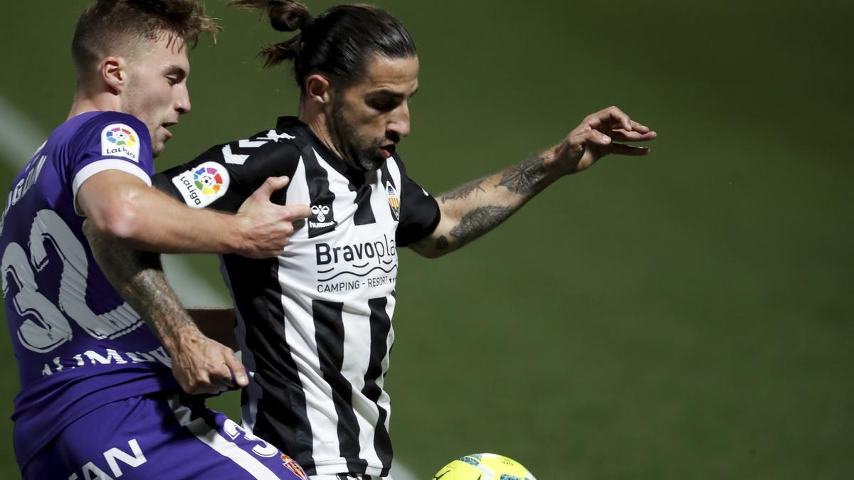 Marc Mateu ha sido uno de los mejores jugadores del Castellón en la 2020/21.