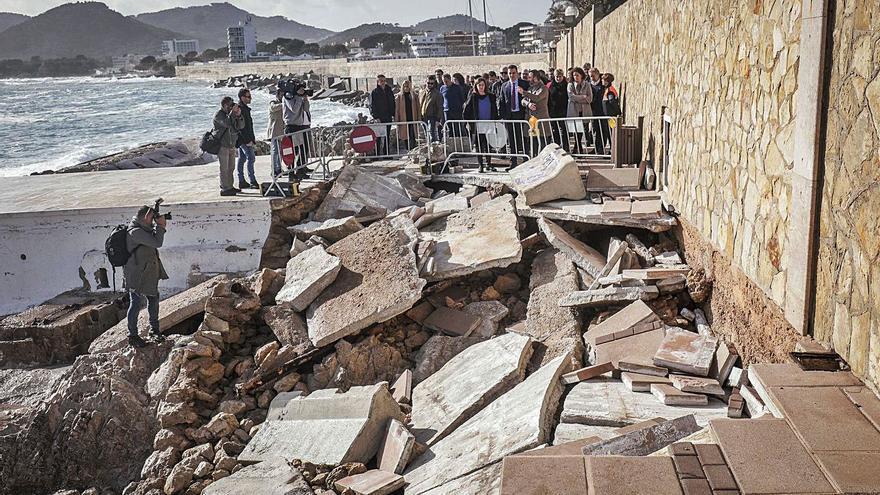 Los municipios de Mallorca reclaman 2,5 millones en ayudas por la pasada borrasca 'Gloria'