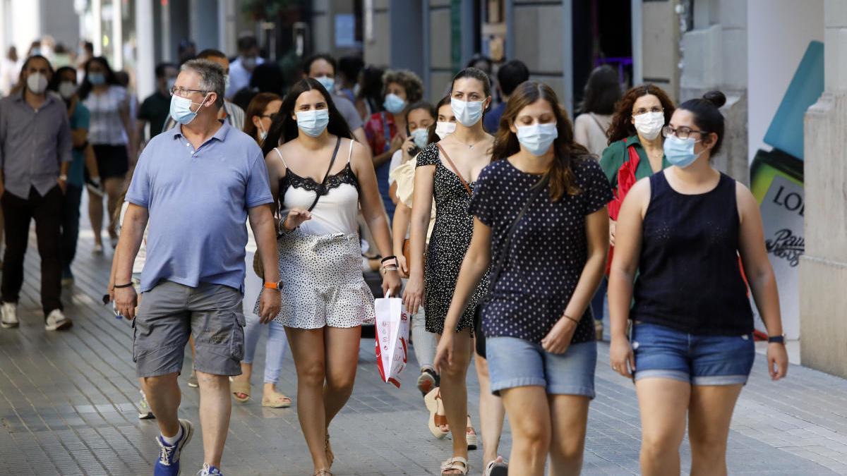 Gráfico | El virus se ceba con los menores de 30 años en la Comunitat Valenciana