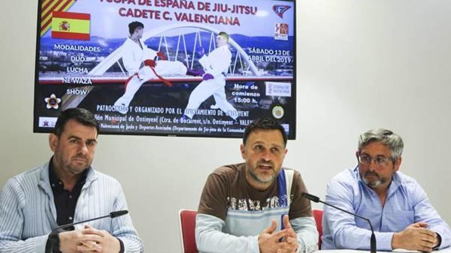 Ontinyent acoge el Campeonato de España Cadete de Jiu-Jitsu y el Alevín de Fútbol-8