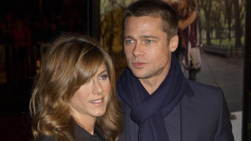 Jennifer Aniston y Brad Pitt 'se reencuentran' y enamoran a las redes