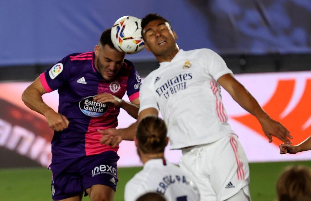 Las imágenes del Real Madrid - Real Valladolid.