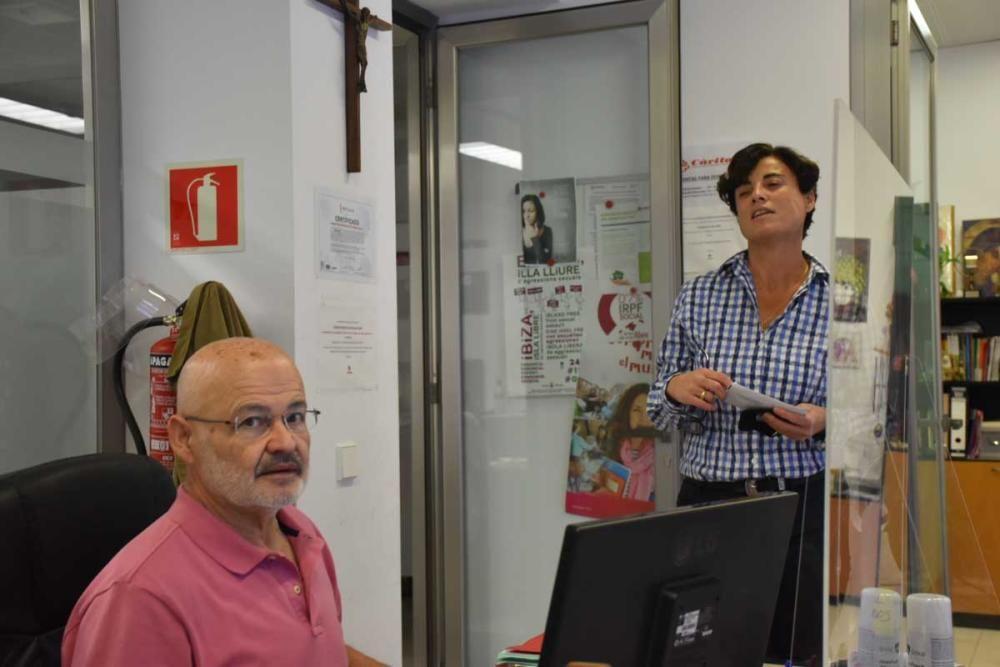 José Juan Cardona, voluntario de Cáritas Ibiza