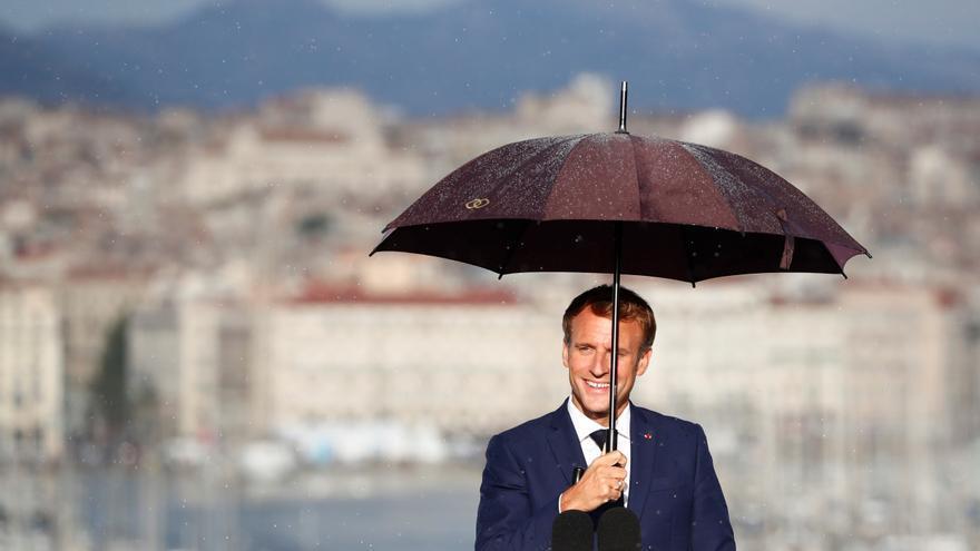 Macron inicia el curso con medidas contra la inseguridad y la precariedad social