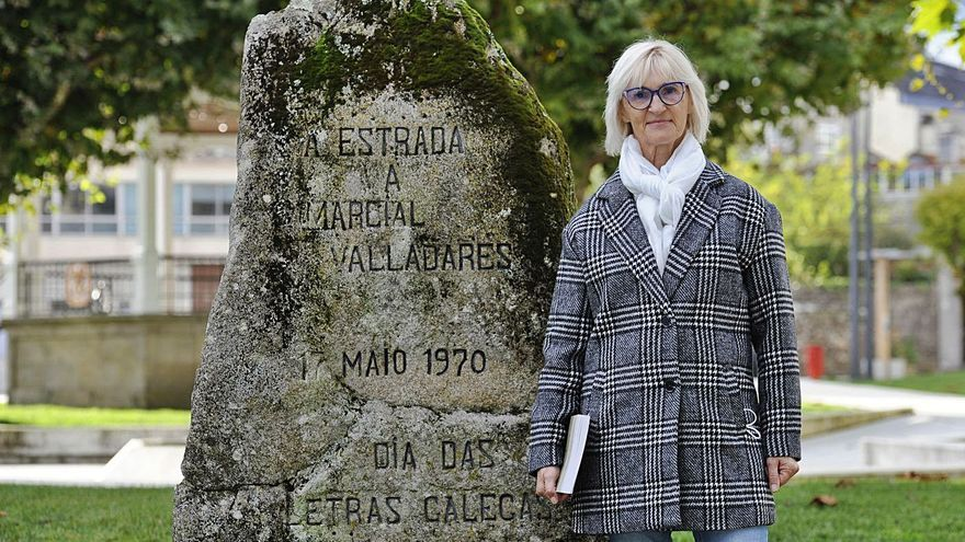 De mestra a guía de Marcial Valladares no seu bicentenario