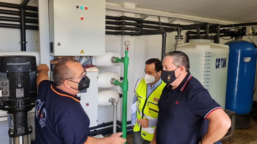 Madridanos y Bamba acaban por fin con los problemas de abastecimiento de agua