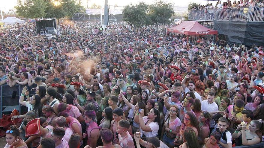 Música de colores en el Festival Colors Tribe