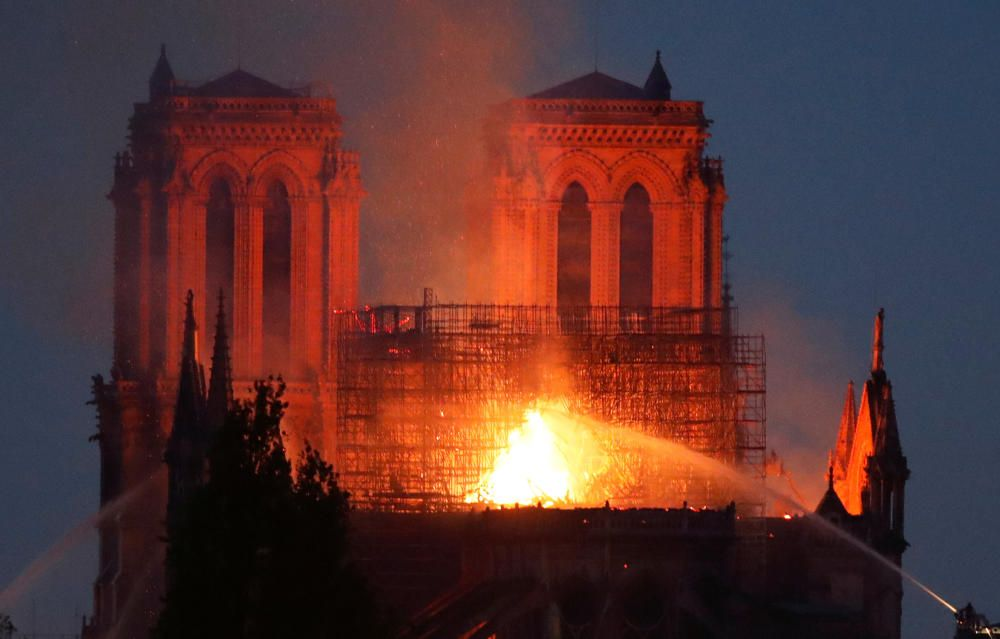 Fire at NotreDameCathedral in Paris