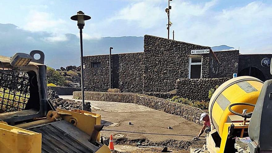 La Frontera mejora el acceso al área  de autocaravanas de La Maceta