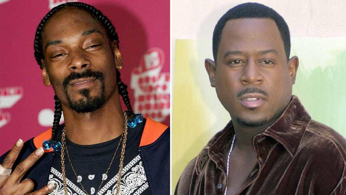 Snoop Dogg y Martin Lawrence.