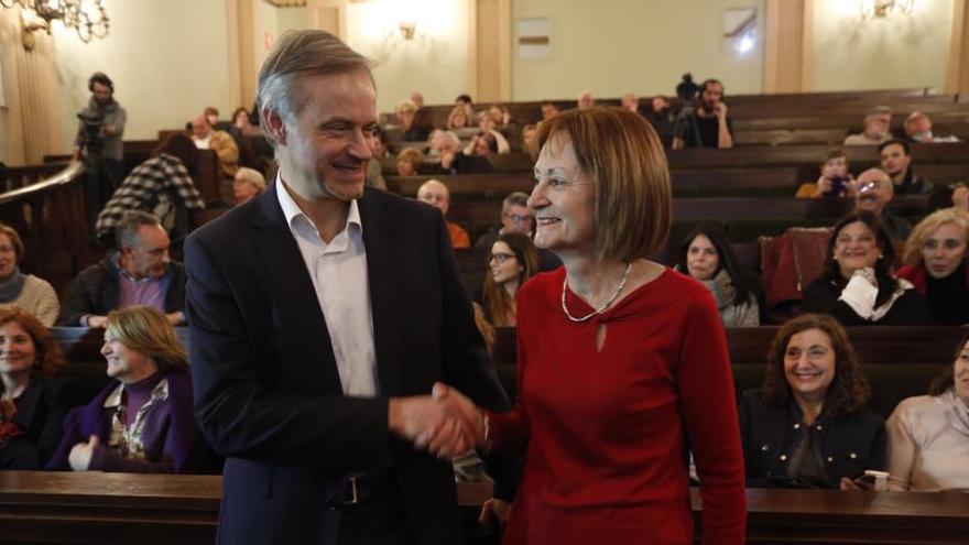 Mestre y Martínez se disputarán el rectorado de la UV en segunda vuelta