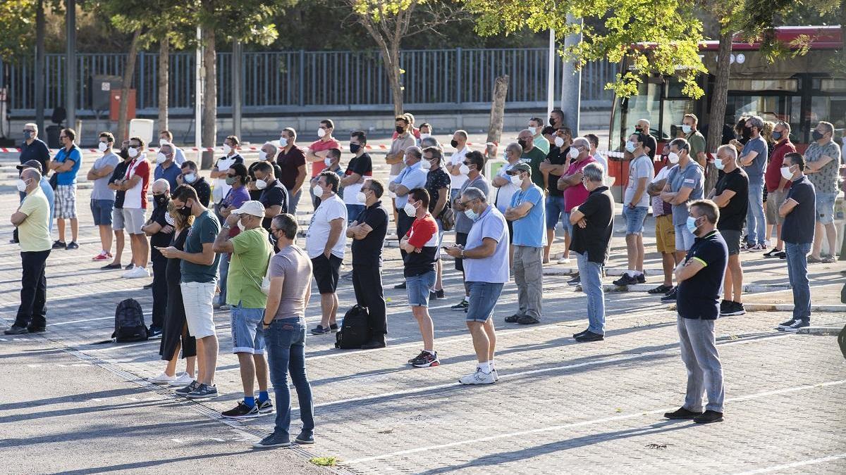 Los trabajadores de la EMT harán  huelga desde el 15 de septiembre