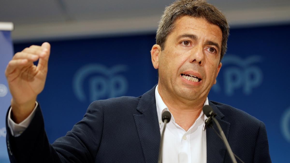 El alicantino Carlos Mazón optará a liderar el PP de la Comunitat Valenciana.
