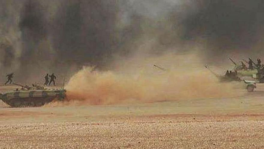 Las maniobras militares elevan la tensión bélica entre Rabat y el Polisario