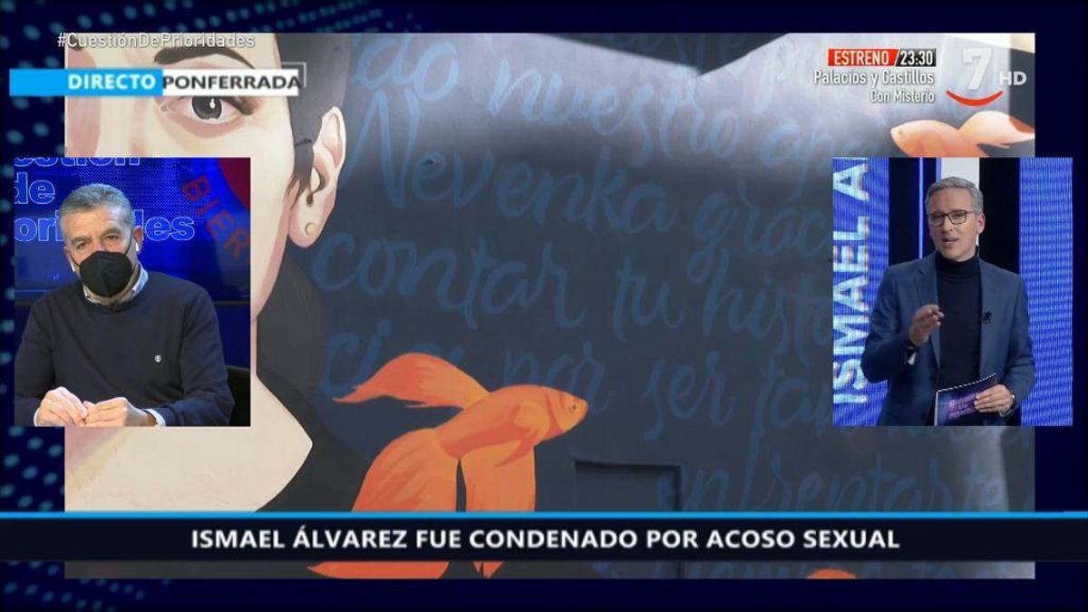 Ismael Álvarez, durante la entrevista.